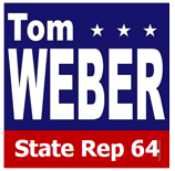 Tom Weber State Rep 64